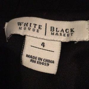 White House Black Market Dresses - Little black dress from WHBM - size 4